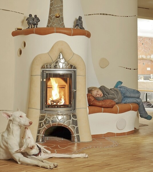 Clay heaters
