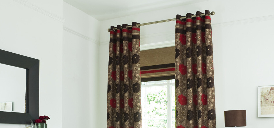 Exclusive designer curtains with style and personality
