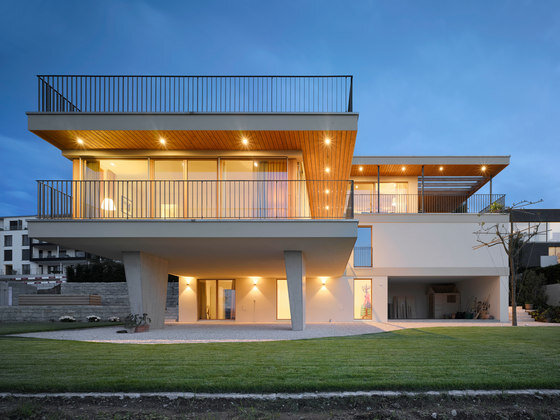 Open and light architecture, made in Swiss …Zen Villa