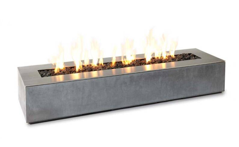 linear fire bowl - Mystical refinement  by Paloform