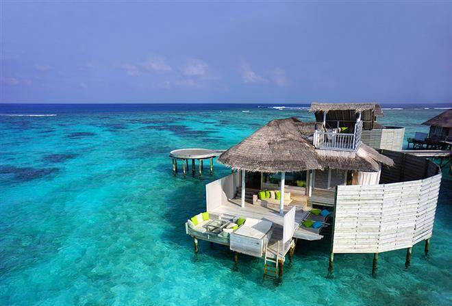 Six Senses Laamu, a paradise resort in the Maldives