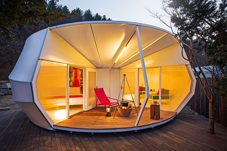 ArchiWorkshop Worms And Donughts Tents- Glamping For Glampers