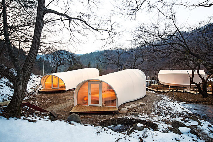 ArchiWorkshop Worms And Donughts Tents Glamping-For Glampers 3
