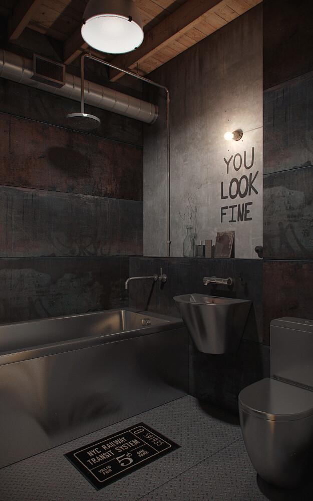Den-Loft, Chic loft style studio by Nordes