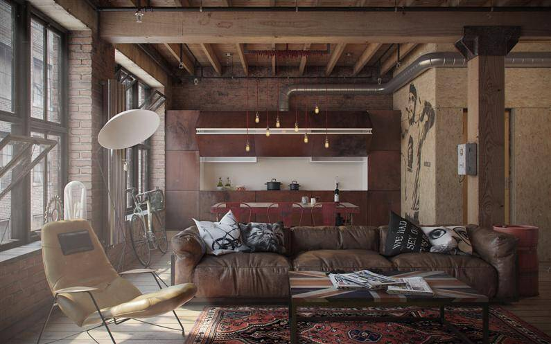 Den-Loft, studio by Nordes design