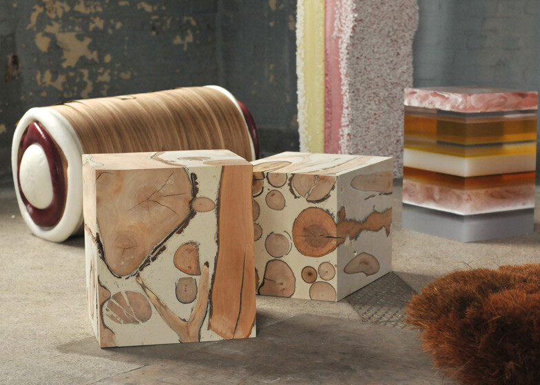 Designer Matthias Borowski  sweet furniture