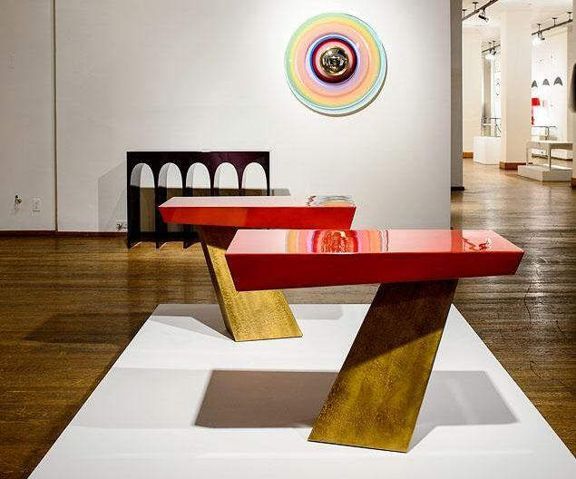 Herve Van der Straeten - when tables become modern art marvels