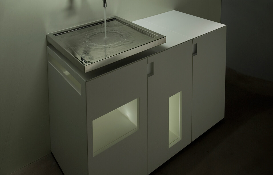 Horizontal Integrated Siphon, innovative design for the bathroom (2)