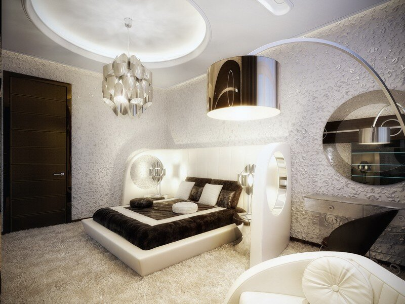 Luxury apartment in Moscow with unique aesthetic charisma