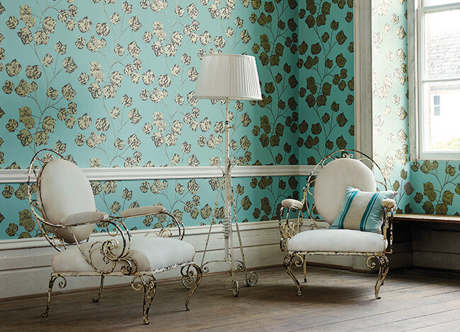 Harlequin - A refined wallpaper - able to turn your room in an artistical space
