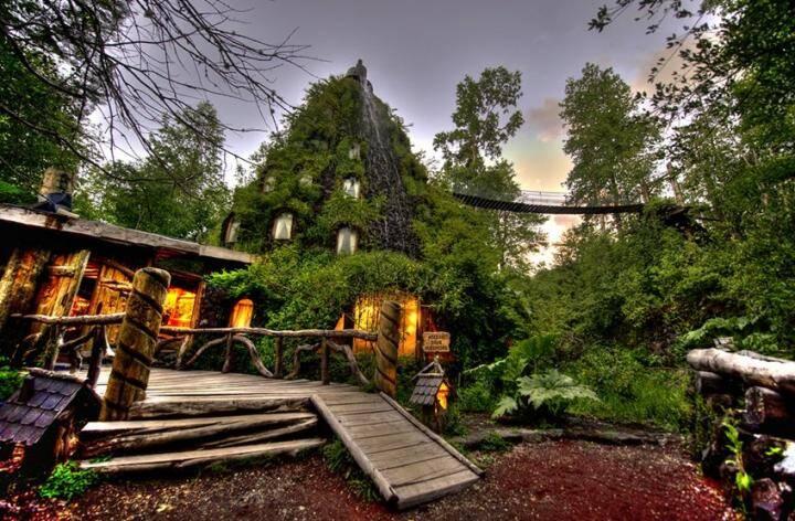 Hotel lodge montana magica