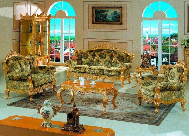 A beautiful selection of 15 living rooms, decorated in classic style (6)