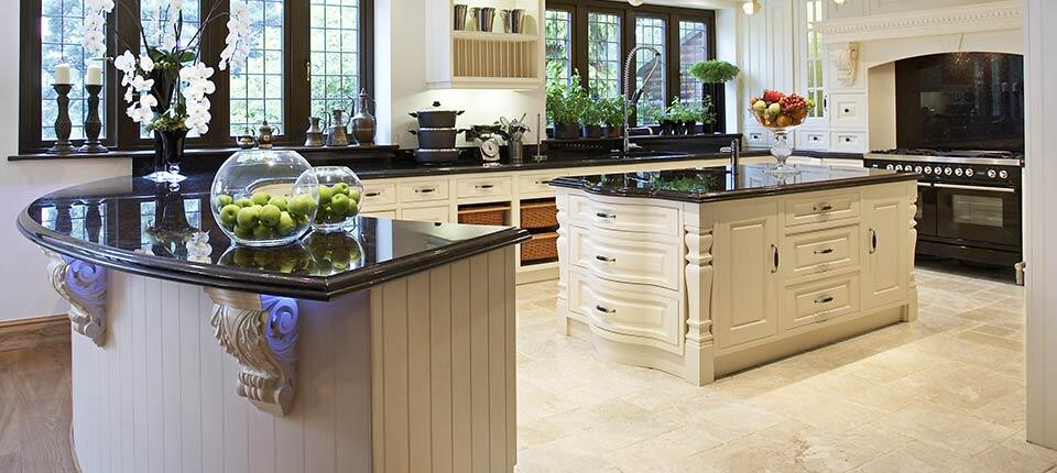 Classical Kitchen With Modern Design Integrated In A Georgian Style 6