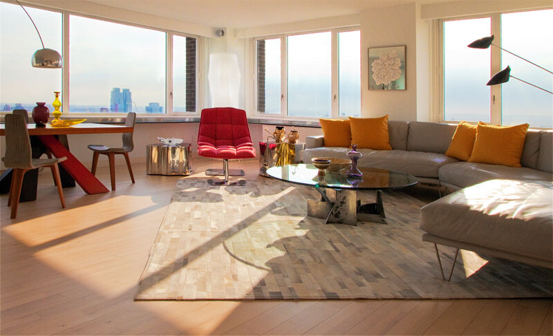 Designer Andrew Suvalsky, Hudson Views apartment in Upper West Side (1)