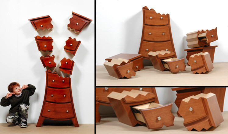 Funky and unique furniture for children room by Judson Beaumont