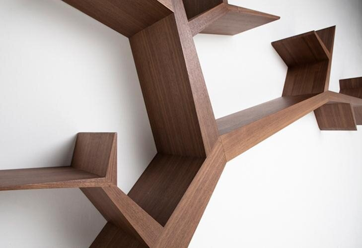 Olivier Dolle - Tree  Library - a simple, beautiful and poetic design  (7)