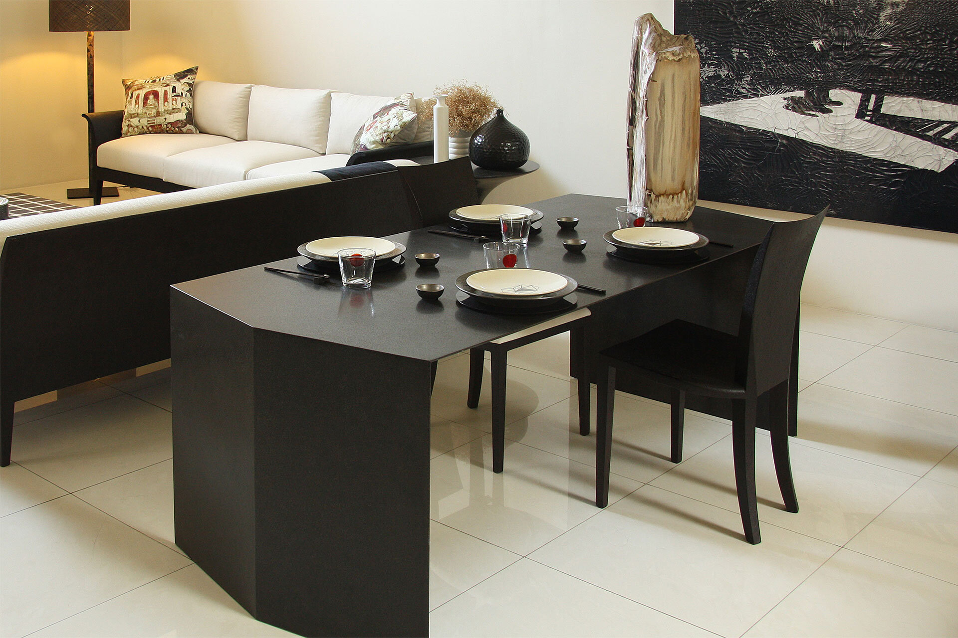 Original furniture with innovative materials by Carlo ...
