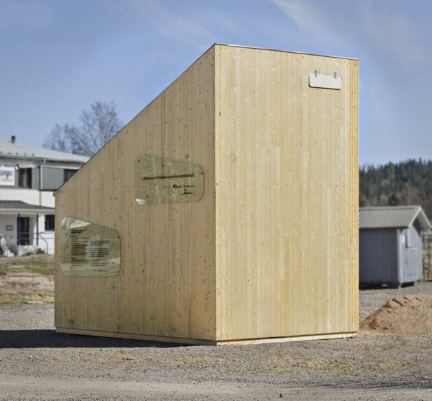 Student Unit - mini compact house for students by Tengbom Architects (4)