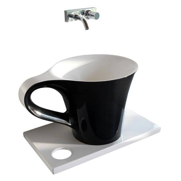 cup of coffee sink -If you want a coffee in the bathroom -  Meneghello Paolelli Associati (7)