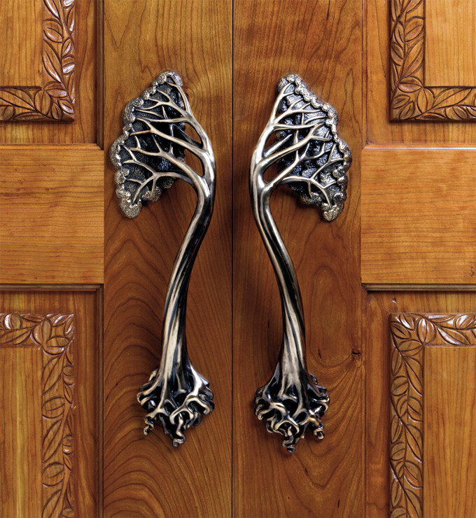 Door handles - attractive decorations by Martin Pierce (3)