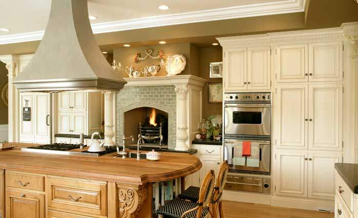 French style in a kitchen, made by Simmons & Company