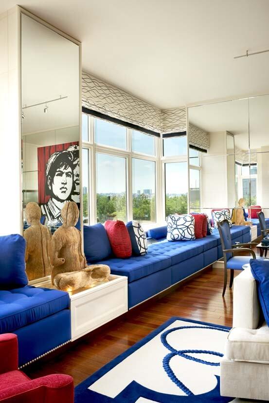 Geoffrey Bradfield design for Oliver Stone's apartment (2)
