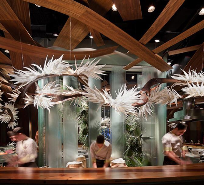 Ikibana restaurant by El Equipo Creativo