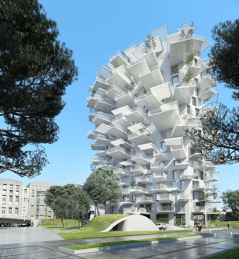 L'Arbre Blanc - best architectural design in Montpellier (1)