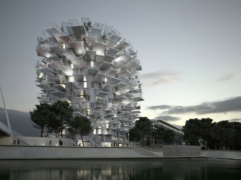L'Arbre Blanc - best architectural design in Montpellier (6)