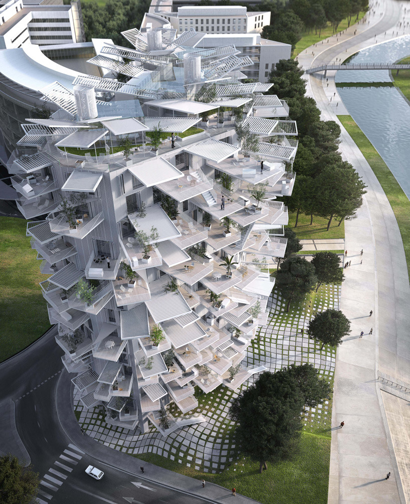 L'Arbre Blanc - best architectural design in Montpellier