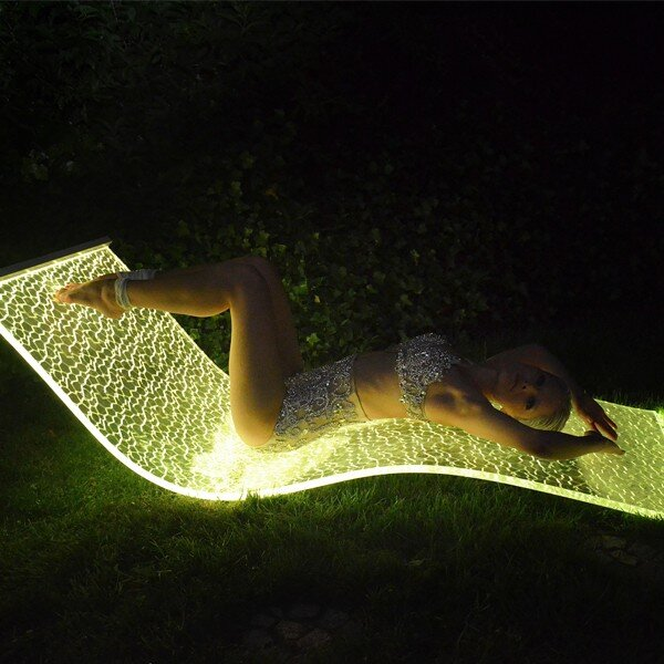 LED Lounge designed by the German company BeMoss (4)