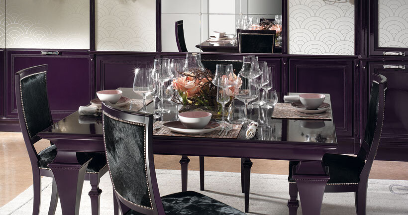 The kitchen in purple - contemporary luxury and traditional design by Brummel (8)