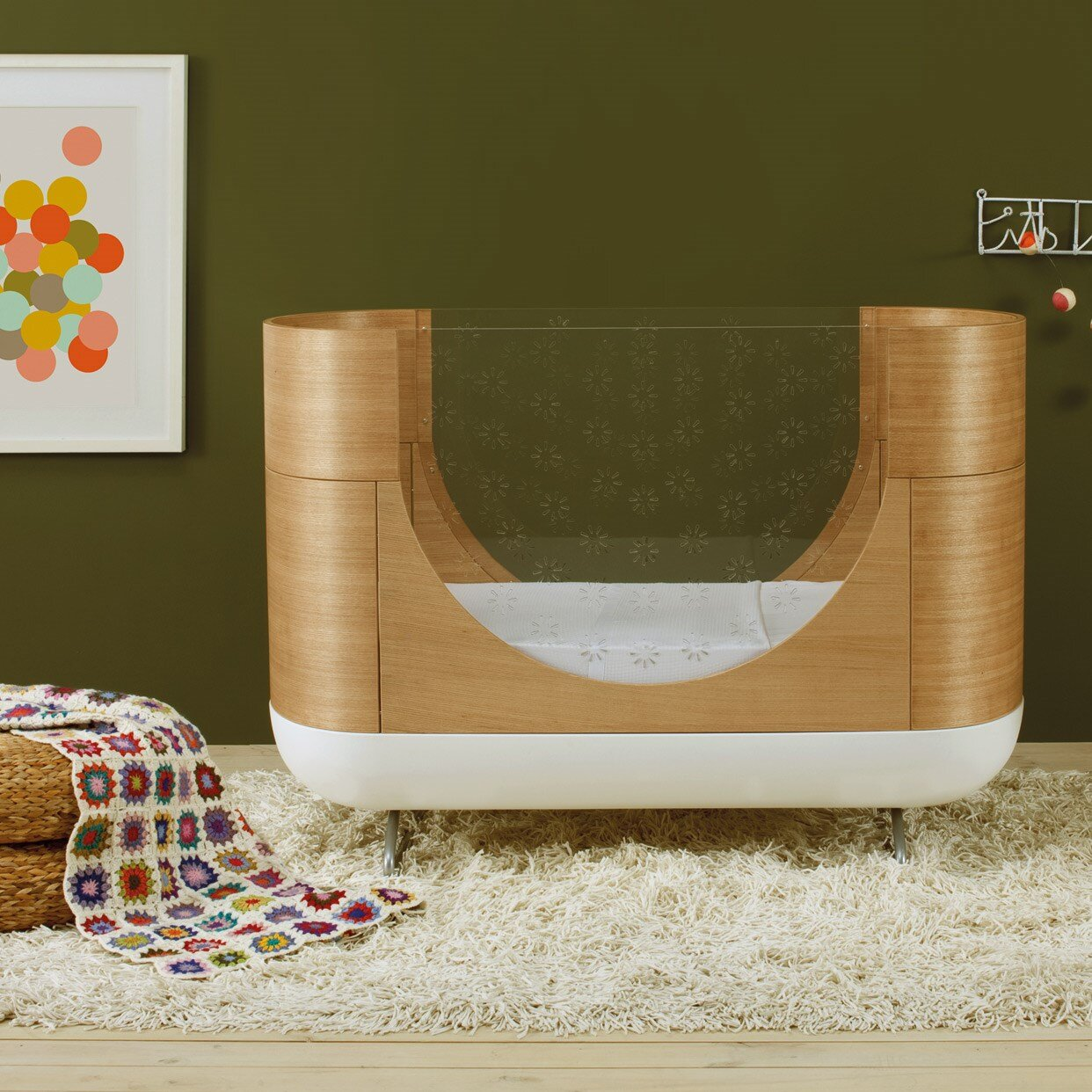 Ubabub Crib For Babies With A Special Aesthetic