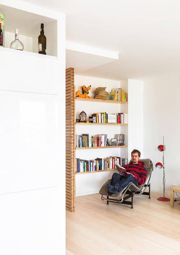 apartment renovated by the Italian designer Maurizio Giovannoni (1)