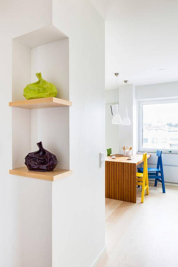 apartment renovated by the Italian designer Maurizio Giovannoni (8)