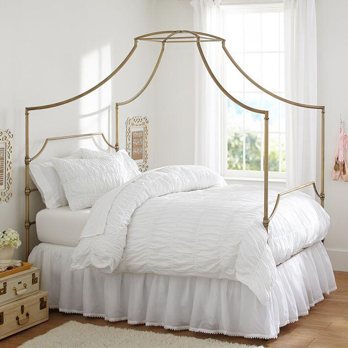Canopy Bed With Contemporary Design