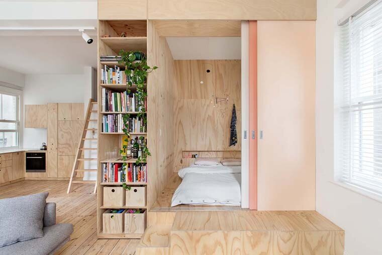 Flinders Lane Apartment by Clare Cousins Architects (1)