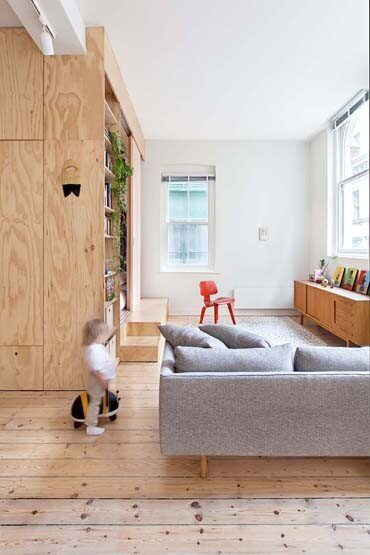Flinders Lane Apartment by Clare Cousins Architects (2)