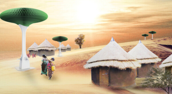 Hope Tree - solution for desert areas, by Zhejiang University