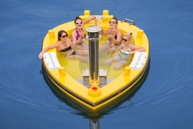 HotTug – motorised tub perfect for relaxing and entertaining