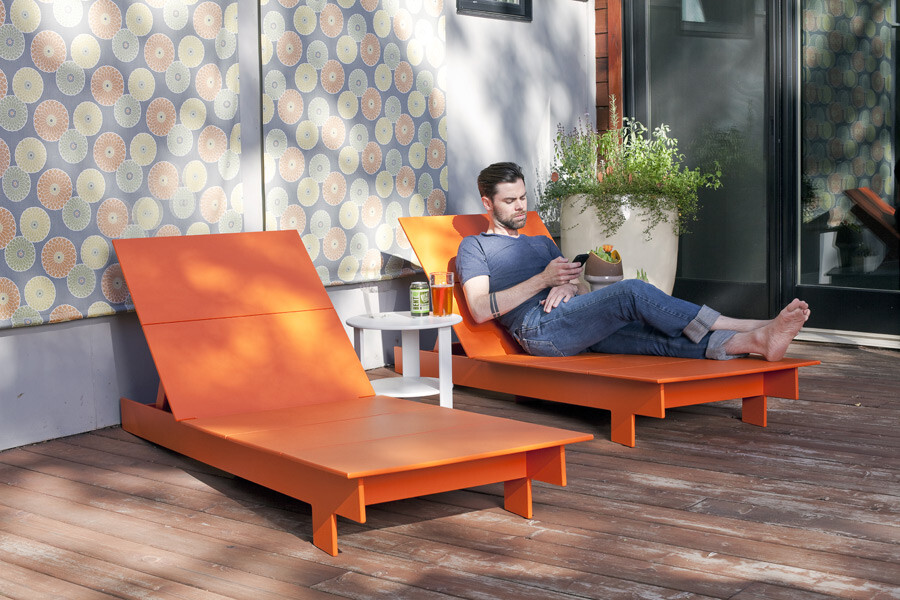 Lollygagger lounge outdoor furniture by Loll Designs