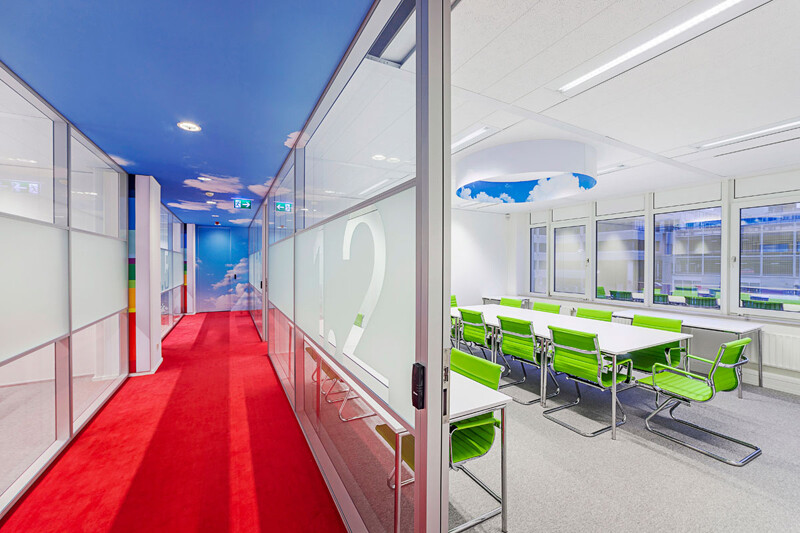 NTI offices - vitality and vivid tones, by Liong Lie Architects (2)
