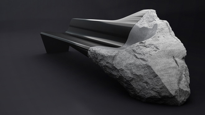 ONYX sofa presented at Milan Design Week 2014 (2) - by Pierre Gimbergues for Peugeot Design Lab