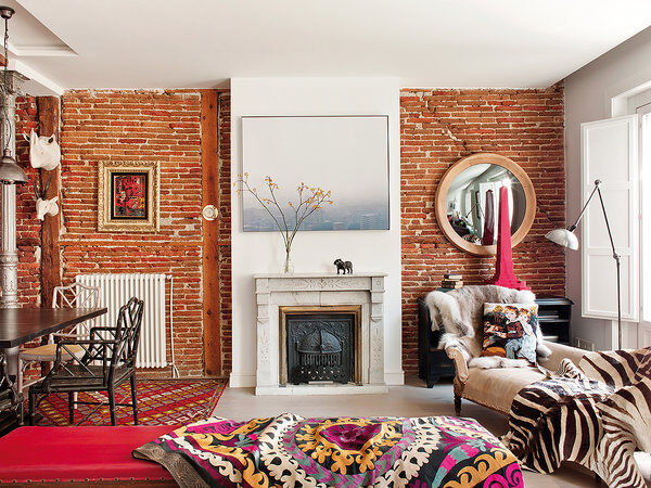 Style and vibrant tones in Madrid, by Marengo Interiorismo (4)