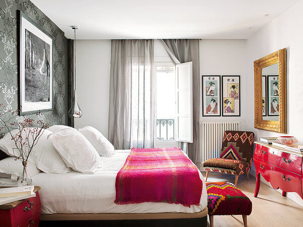 Style and vibrant tones in Madrid, by Marengo Interiorismo (5)