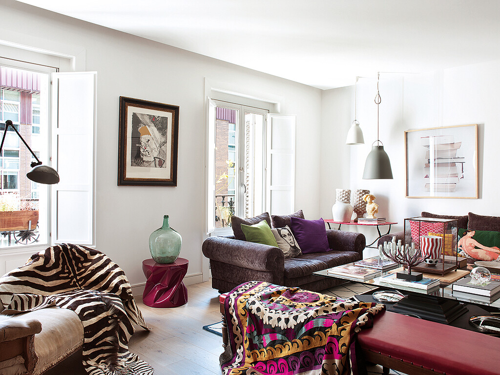 Style and vibrant tones in Madrid, by Marengo Interiorismo (8)