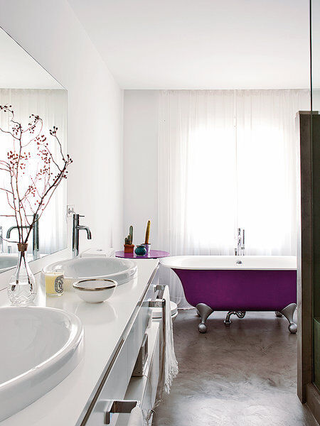 Style and vibrant tones in Madrid, by Marengo Interiorismo