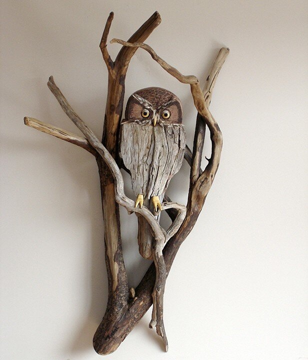 Driftwood-sculptures by Richel Vincent (1)