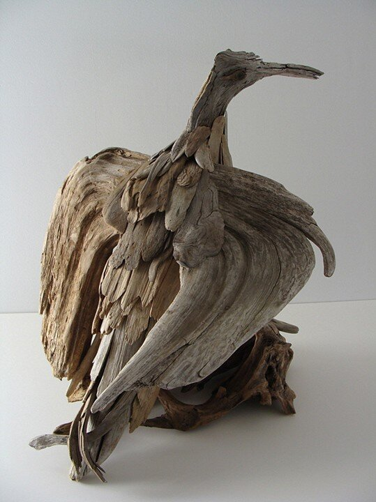 Driftwood-sculptures by Richel Vincent (10)
