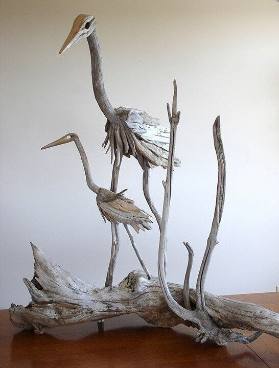 Driftwood-sculptures by Richel Vincent (11)
